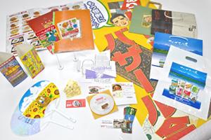 アイデアいっぱい、様々な宣伝販促ツールで売り上げ貢献