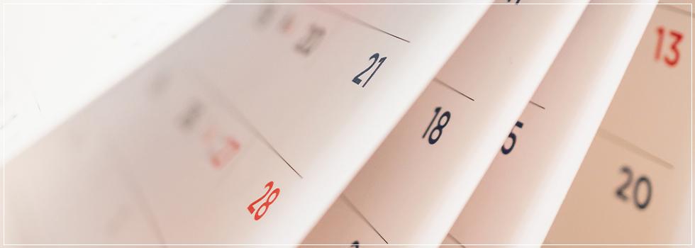 オリジナルのカレンダー・手帳を企画します
